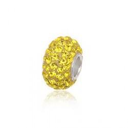 Swarovski Charm led med swarovski krystaller