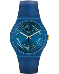 Swatch Cyderalblue men One size Blå
