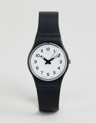 Swatch LB153 Original Something New Watch In Black 25mm - Black