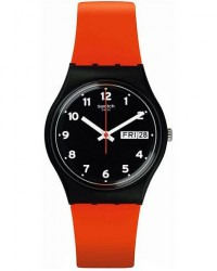 Swatch Red Grin men One size Rød