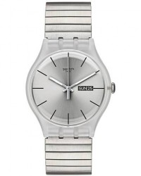 Swatch Resolution L Silver men One size Sølv