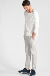 Sweatbuks med elastik og løbegang