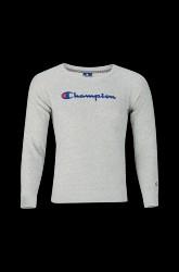 Sweatshirt med broderet logo