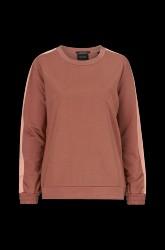 Sweatshirt med glans