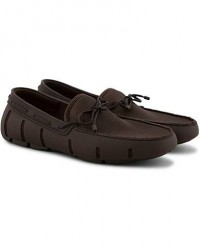 Swims Braided Lace Loafer Brown men 45