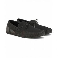 Swims Breeze Lace Car Shoe Black