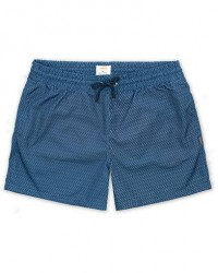 Swims Breeze Short Printed Swim Shorts Navy Grid men L