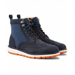 Swims Motion Wing Tip Boot Navy