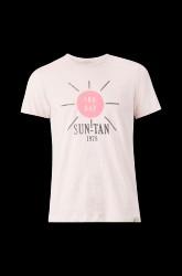 T-shirt i bomuld med tryk