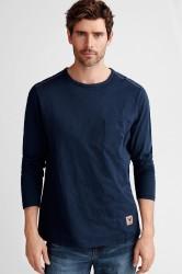 T-shirt med langt ærme