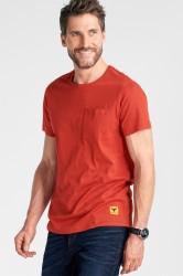 T-shirt med pyntesømme
