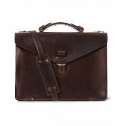 Tärnsjö Garveri Icon Briefcase Dark Brown
