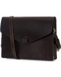 Tärnsjö Garveri Messenger Bag 3-In-1 Dark Brown men One size Brun