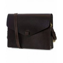 Tärnsjö Garveri Messenger Bag 3-In-1 Dark Brown