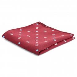Tailor Toki Afslappet Rød Lommeklud