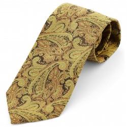 Tailor Toki Gyldent Vintage Paisley Slips i Polyester