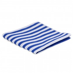 Tailor Toki Lommeklud med Blå og Hvide Striber