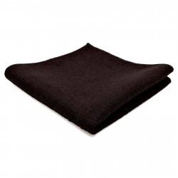 Tailor Toki Mørkebrun Håndlavet Lommeklud i Uld