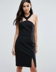 Talulah Brighter Than The Sun Slit Dress - Black