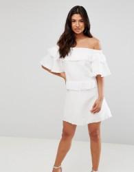 Talulah Slow Dance Mini Dress - White