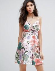 Talulah Wild Things Floral Mini Skater Dress - Multi