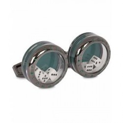 Tateossian Dice Cufflinks Poker