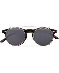 TBD Eyewear Pleat Clip On Sunglasses Classic Tortoise men One size Brun