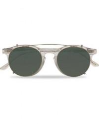 TBD Eyewear Pleat Clip On Sunglasses Transparent men One size Transparent