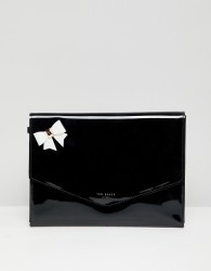 Ted Baker Bow Envelope Pouch - Pink