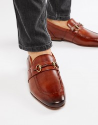 Ted Baker Daiser bar loafers in tan leather - Tan
