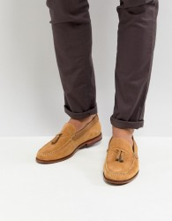 Ted Baker Dougge Suede Loafers In Stone - Stone