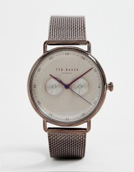 Ted Baker George mesh watch - Copper