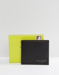Ted Baker Harvys Leather Billfold Coin Wallet - Brown