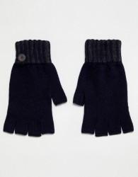 Ted Baker Lydford fingerless gloves - Navy