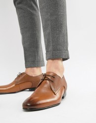Ted Baker Peair derby shoes in tan leather - Tan