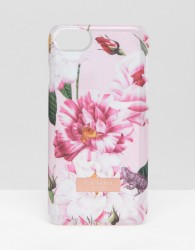 Ted Baker Pink Floral iPhone 6/6S/7/8 Clip Case - Pink