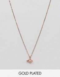 Ted Baker Rose Gold Bumble Bee Necklace - Gold