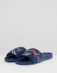 Ted Baker Sauldi 2 Sliders In Navy - Navy