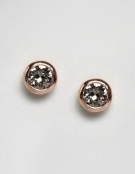 Ted Baker Sinaa Crystal Stud Earrings - Gold
