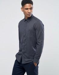 Ted Baker Slim Jersey Shirt - Navy
