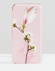 Ted Baker tablet iphone 8 mirror case in harmony floral - Pink