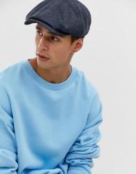 Ted Baker Treacle baker boy cap in blue - Blue