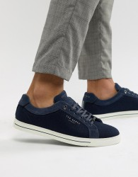 Ted Baker Werill trainers in navy - Blue