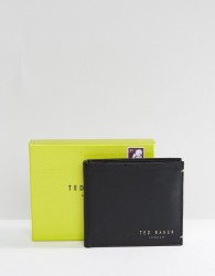 Ted Baker Zacks Bifold Leather Wallet - Black