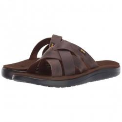 Teva M Voya Slide Leather - Herresandal