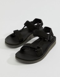 Teva Original Universal Premier Leather Sandals - Black