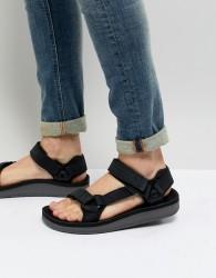 Teva Original Universal Premier Leather Sandals - Black