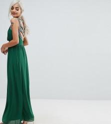 TFNC Petite WEDDING Embellished Back Maxi Dress - Green