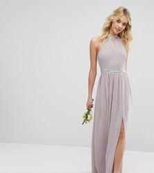 TFNC WEDDING Maxi Dress with Embellishment - Grey
