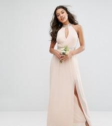 TFNC WEDDING Maxi Dress With Embellishment - Pink